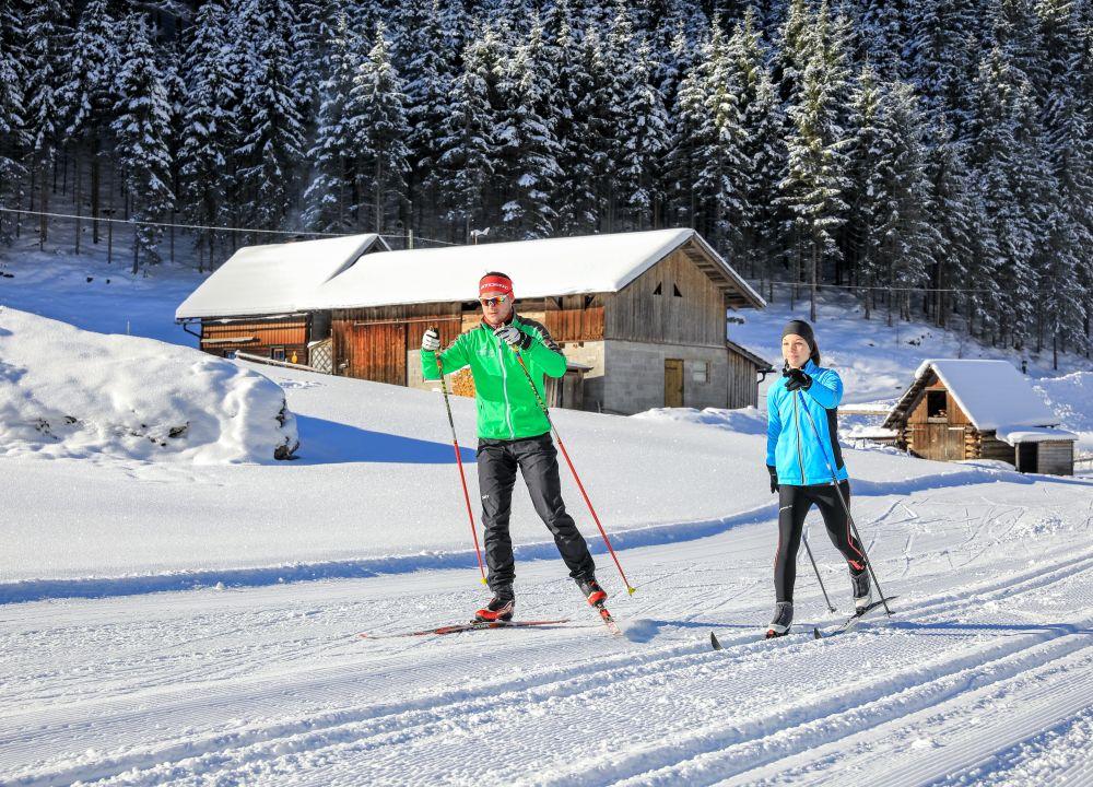 Winter, Langlaufen, Kristall-Loipe Untertal