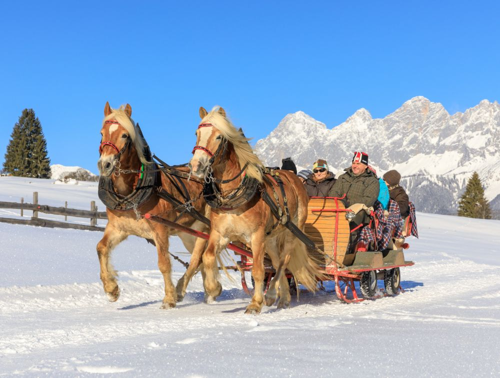 Pferdeschlitten Obertal © Martin Huber