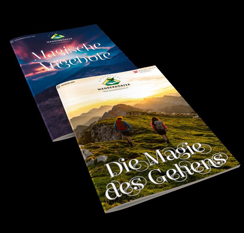 Katalogbestellung österreichs Wanderdörfer