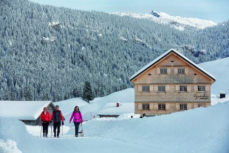 Winterwandern im Bregenzerwald , Adolf Bereuter_Bregenzerwald Tourismus