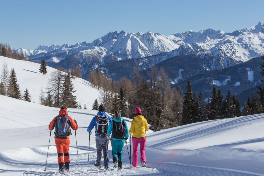 Winterwandern im Winterwanderdorf Kartitsch , © BergimBild