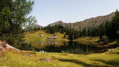 Duisitzkarsee und Hütte, Pixabay