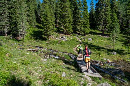 Naturlehrweg Debanttal, © Nationalpark Hohe Tauern, Kastl Assil
