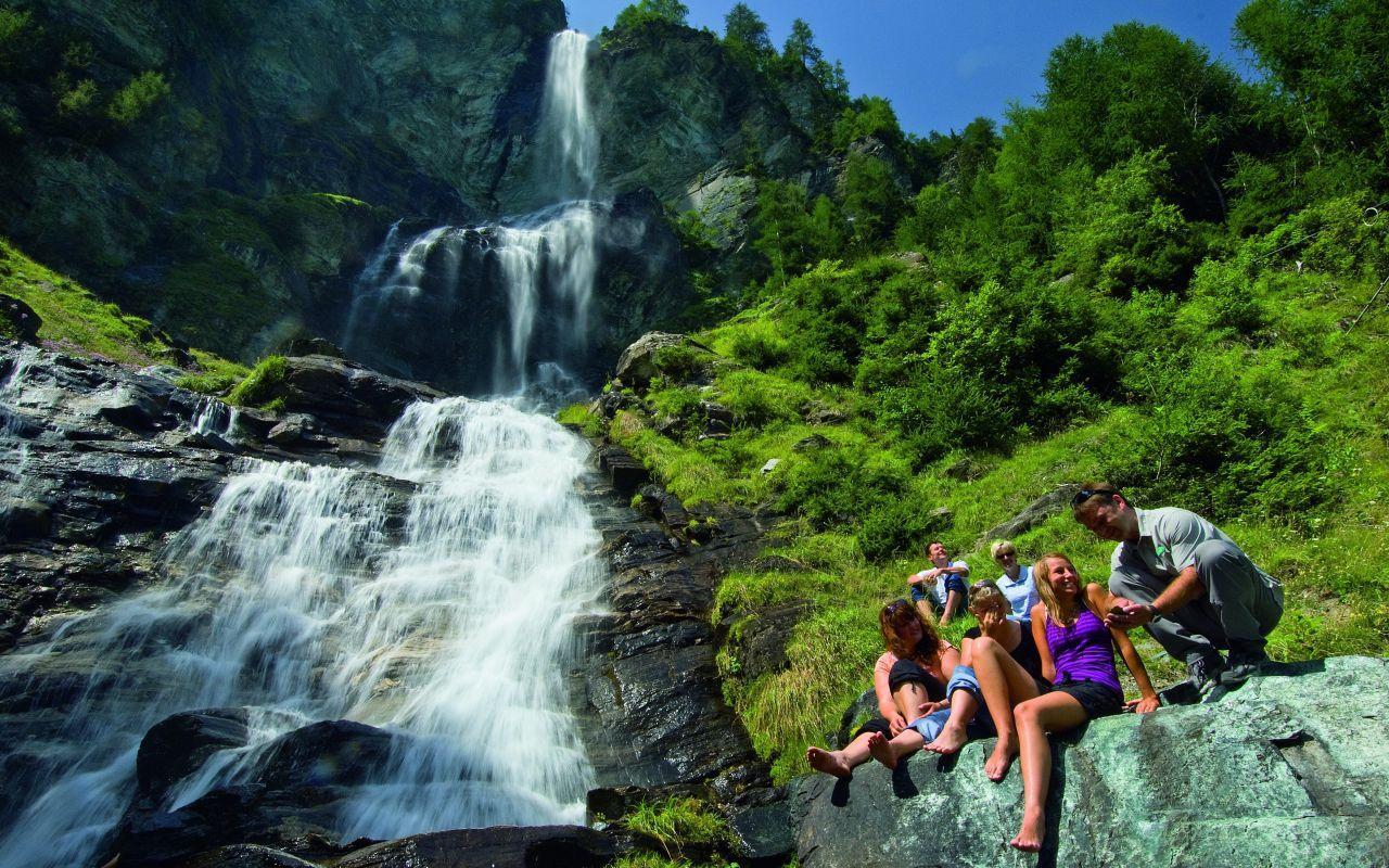 Wasserfall Jungfernsprung im Mölltal, © Klaus Dapra