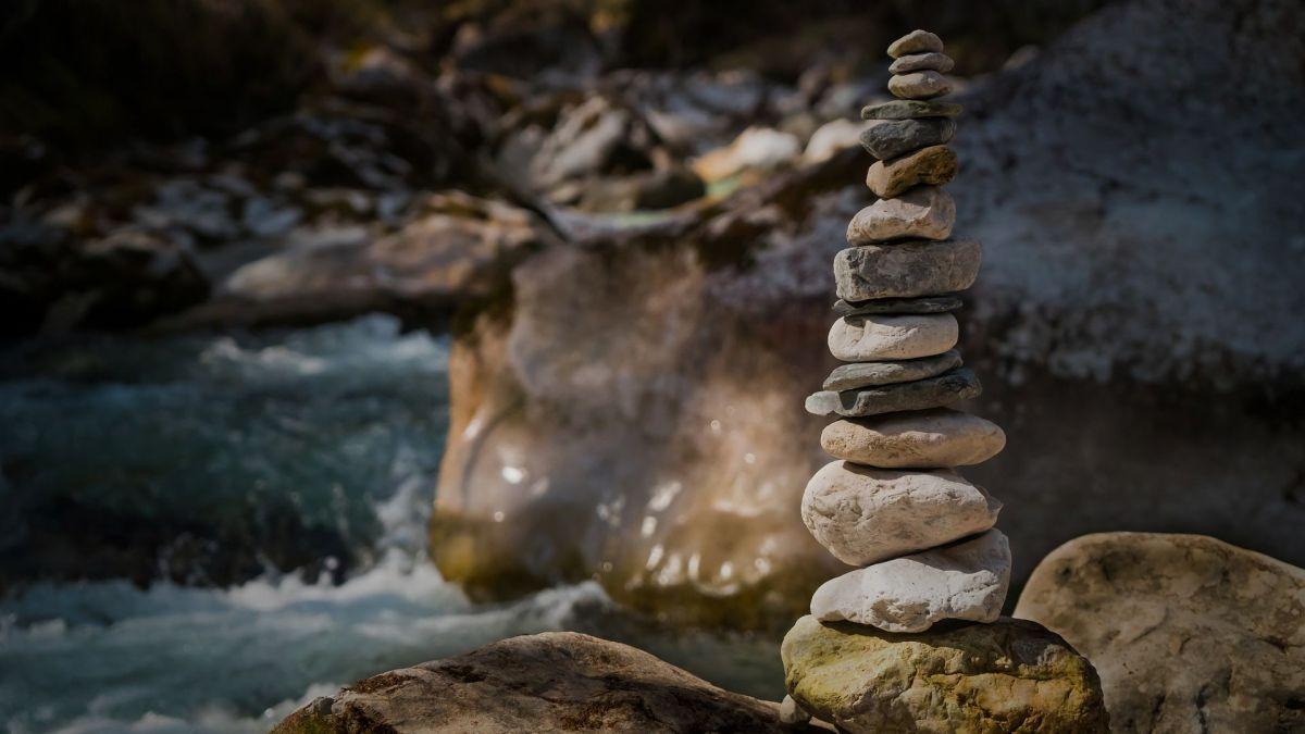 Steine und Wasser, Pixabay