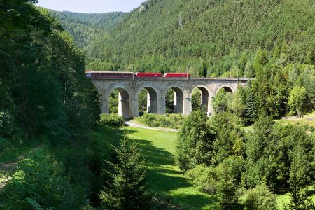 Weltkulturerbe Semmeringbahn, © Wiener Alpen, Zwickl