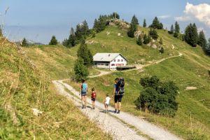 Hüttenwanderung Hochhädrich ©Johannes Fink _Bregenzerwald Tourismus