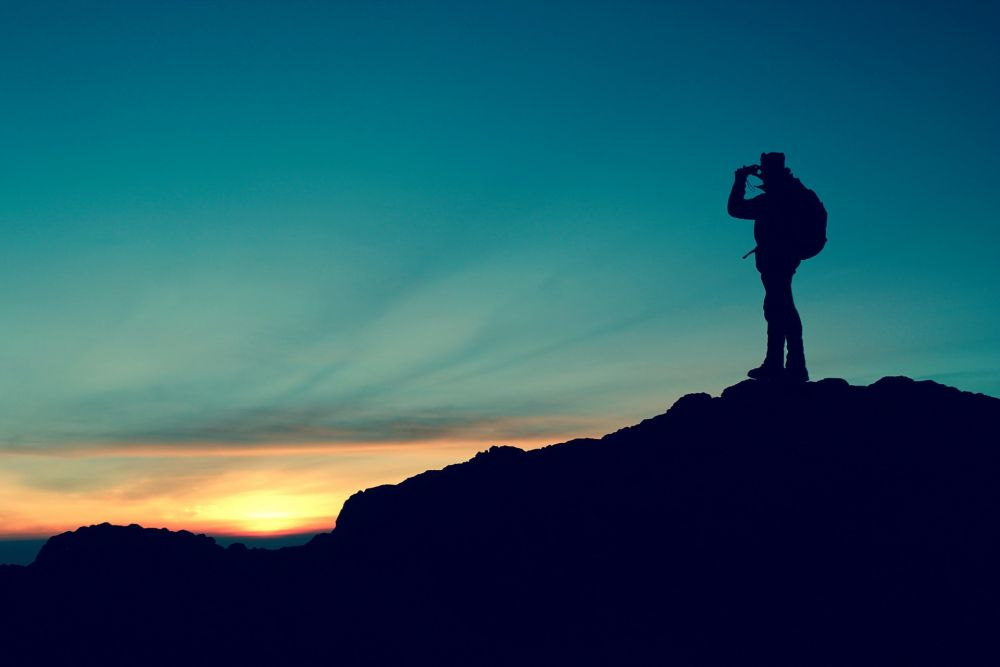 sonnenaufgang am Berg, Pixabay