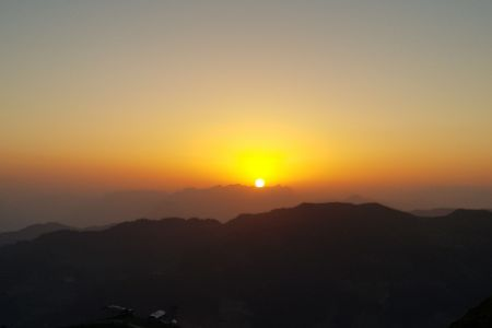 Sonnenaufgang am Wiedersbergerhorn
