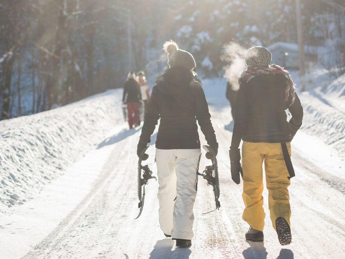 Wandern im Schnee, Pixabay