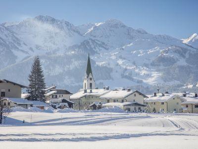 Hochfilzen © defrancesco - Hochfilzen Ortsansicht Winter (1)