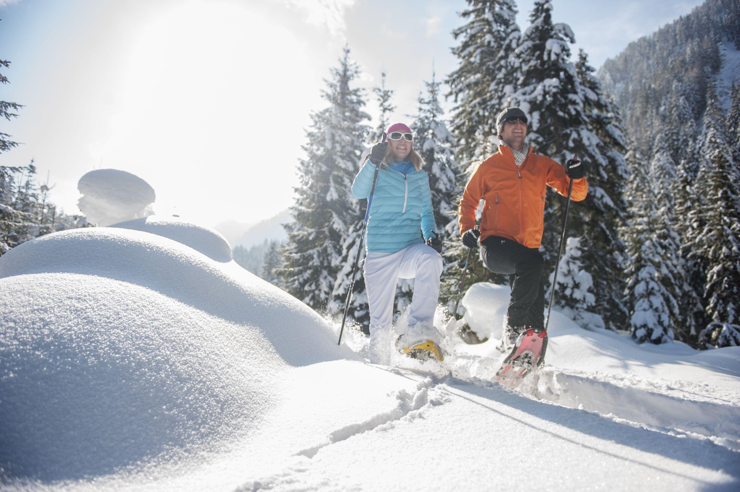 Schneeschuhwandern Zauchbachweg © Altenmarkt-Zauchensee, Huber Hans Photos