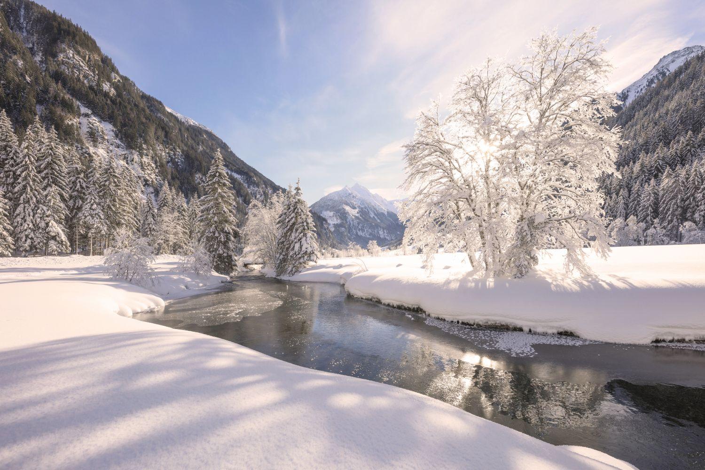 Winterlandschaft in Schladming