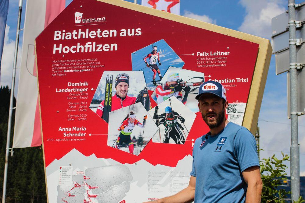 Biathlon WM Pfad Shooting Dominik Landertinger © SMPR (2)
