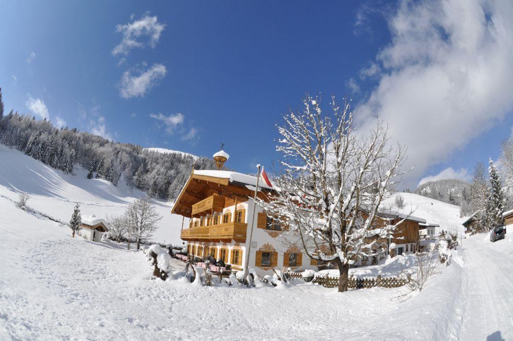 Hochfilzen Winter Wiesenseehof © TVB PillerseeTal -