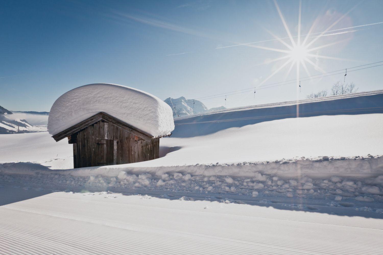 Schneereichster Ort Tirols