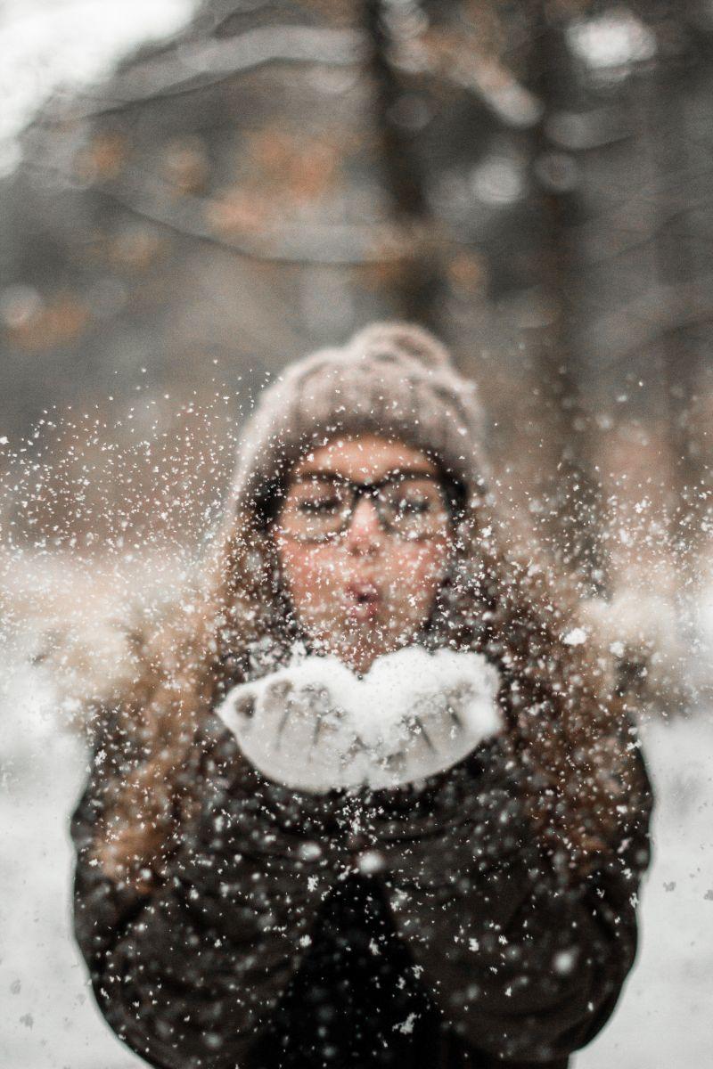 Schnee, Handschauhe, pexels