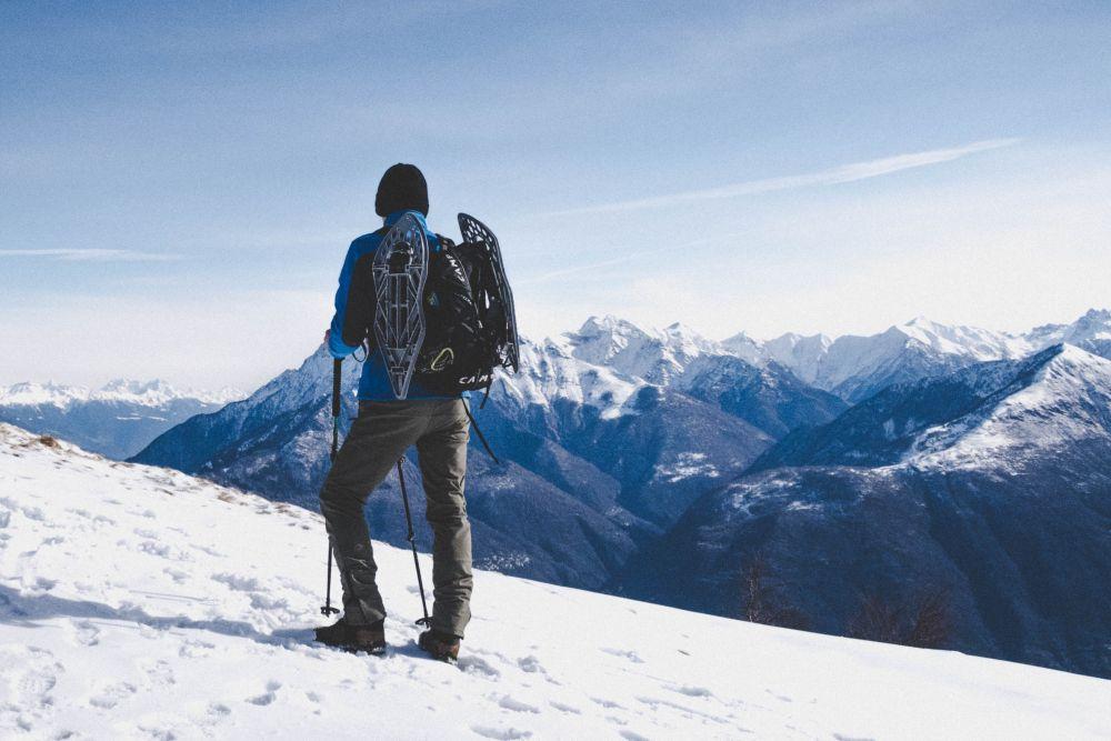 Schneeschuhwanderer, Unsplash