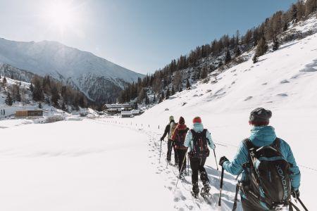 Schneeschuhwanderung in Osttirol © Nationalpark Hohe Tauern, Robert Maybach