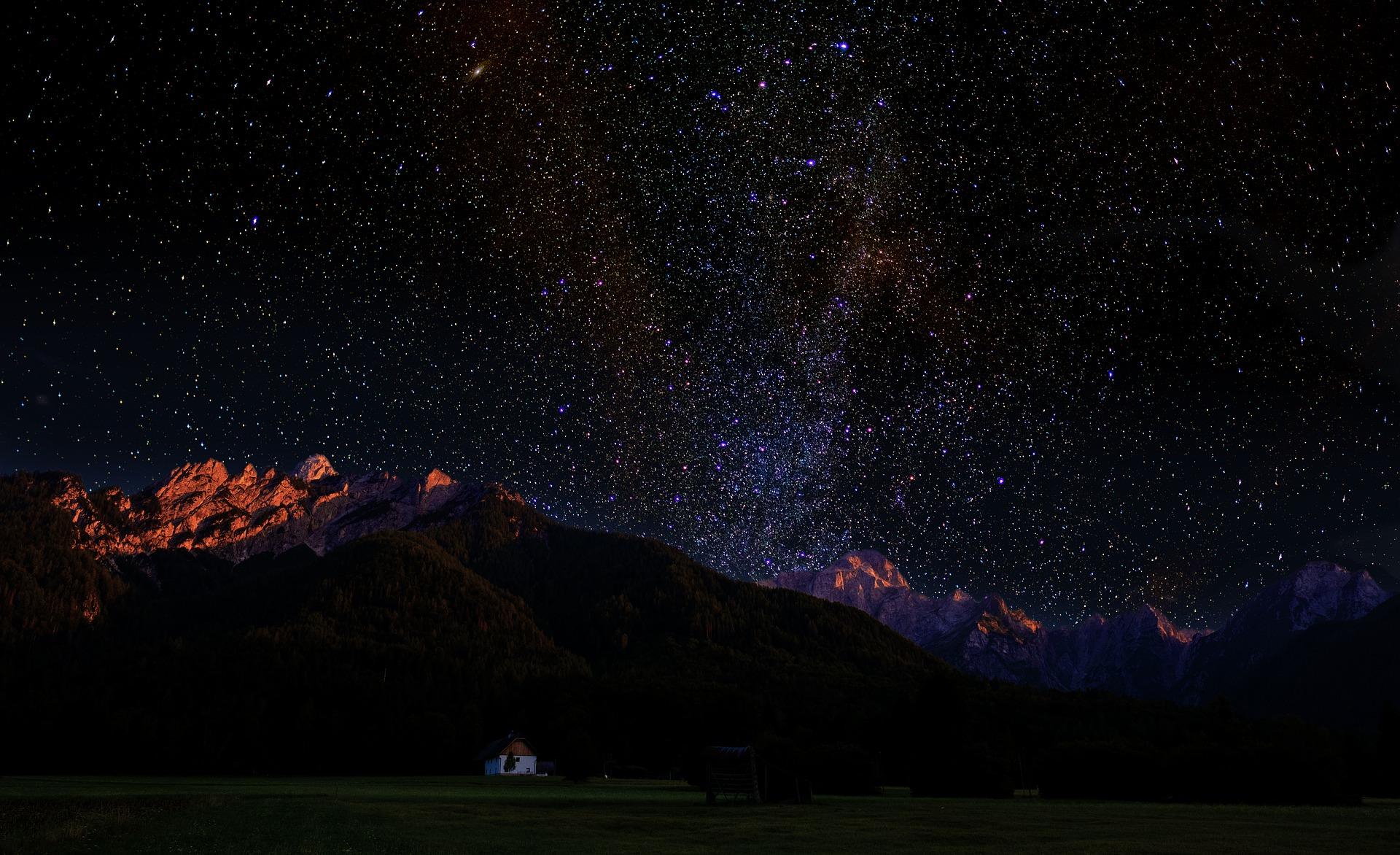 Sternenhimmel, Pixabay