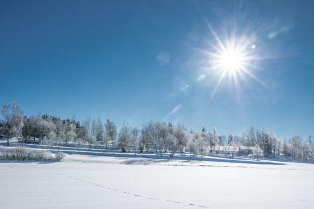 Winterlandschaft_Moorbad Harbach © Waldviertel Tourismus, Robert Herbst