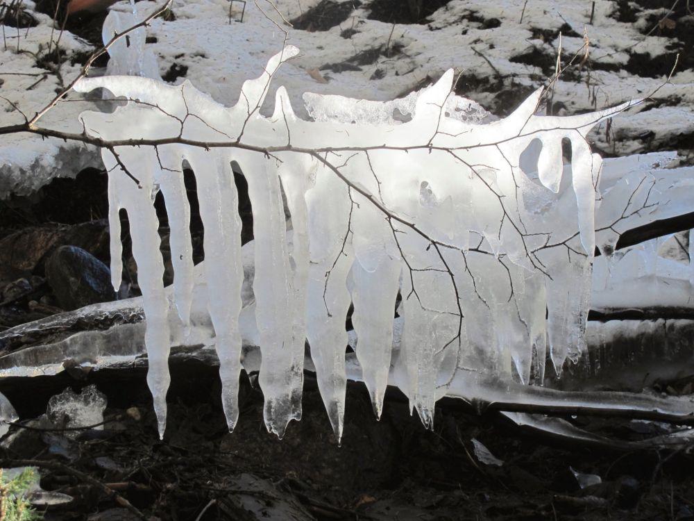 Eiszapfen Mühlner Dorfrunde © TVB Naturpark Zirbitzkogel Grebenzen