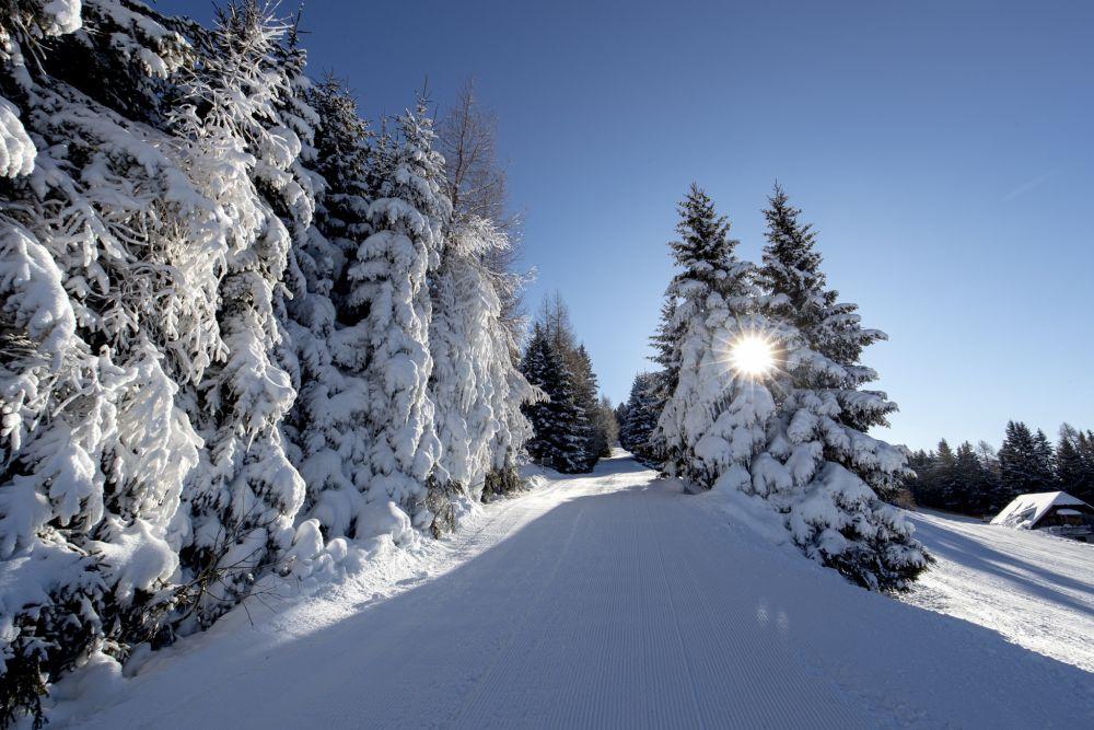 Winterlandschaft Mühlen am Zirbitzkogel © Murau Tourismus