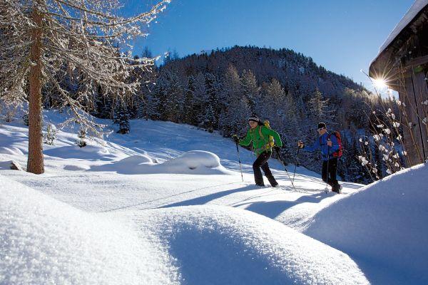 Schneeschuhwanderung Nissl Alm, Ötztal © Ötztal Tourismus