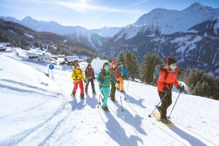 Schneeschuhwanderung mit Picknick_2 © Montafon Tourismus, Stefan Kothner