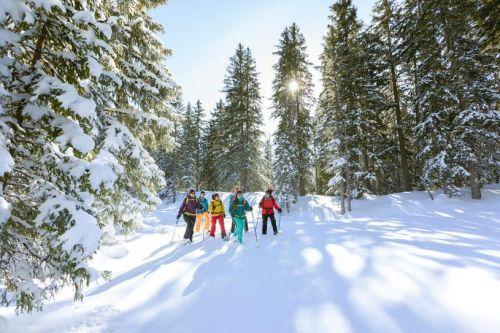 Schneeschuhwanderung mit Picknick_3 © Montafon Tourismus, Stefan Kothner