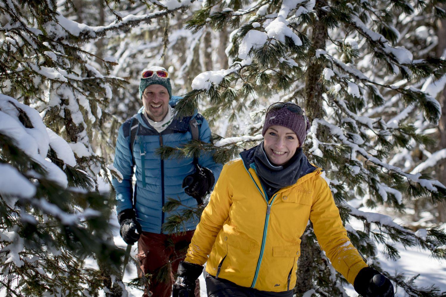 Schneeschuh- und Skitourenparadies