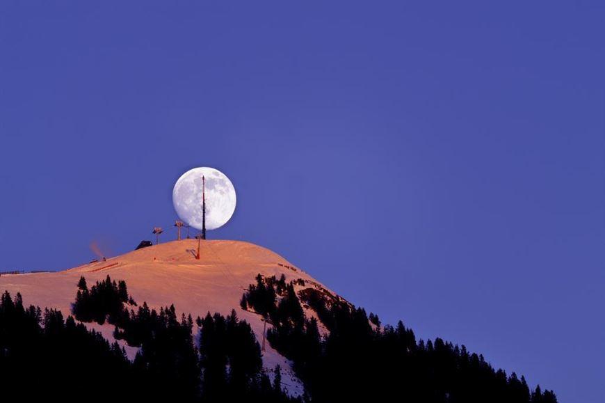 Vollmond Schneeschuhwanderung © hopfgarten-im-brixental-