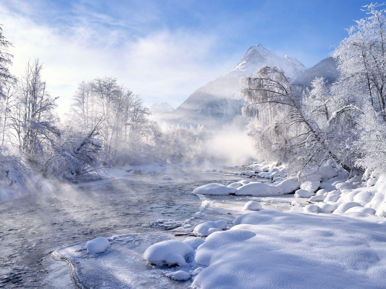 Herrliche Winterstimmung in Längenfeld