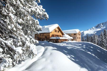 lindauer-huette-im-winter (c) Thomas Beck, Montafon Tourismus