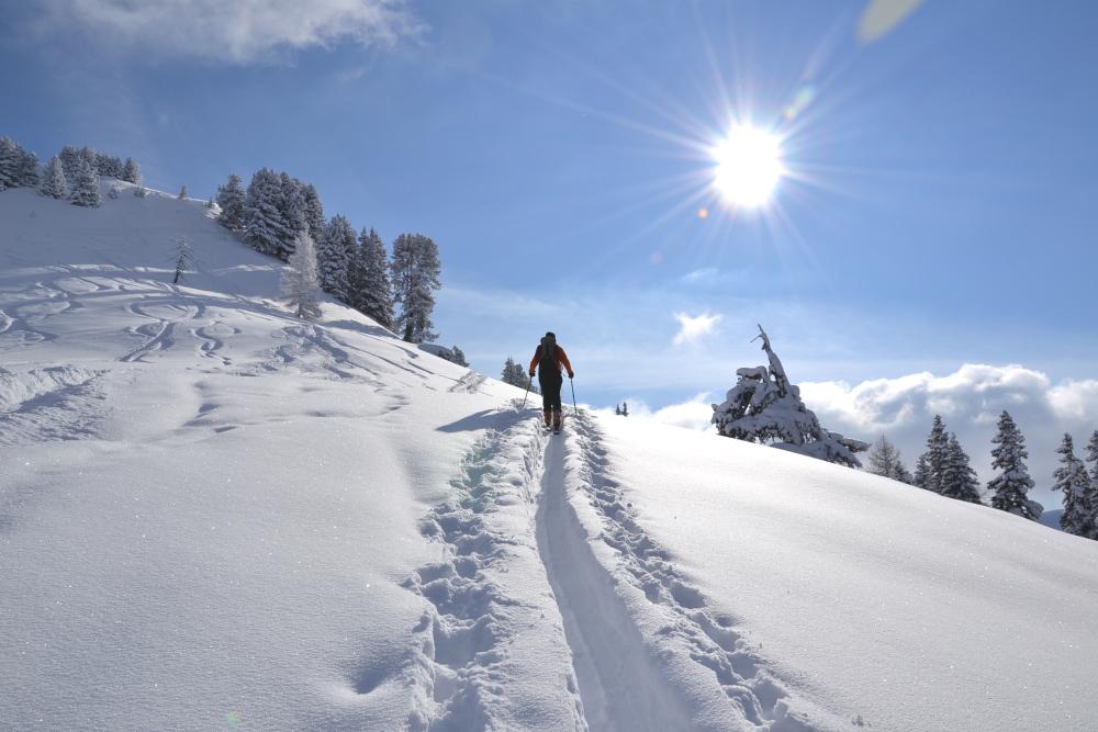 gefuehrte-skitour-loosbuehel Berg-Gesund© TVB Grossarltal
