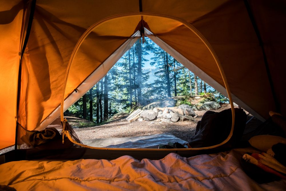 tent, unsplash