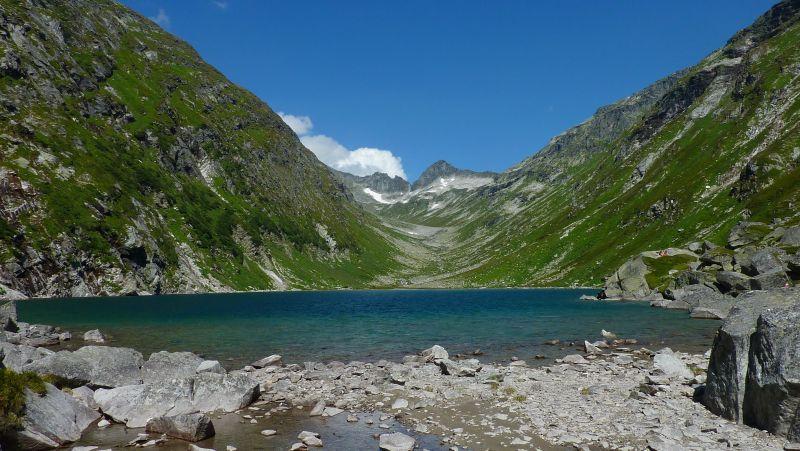 Weltreise_Südseefeeling_Bergsee_Dorfersee Nationalpark Hohe Tauern Osttirol © Nationalpark Hohe Tauern, Scheifele_Amelie