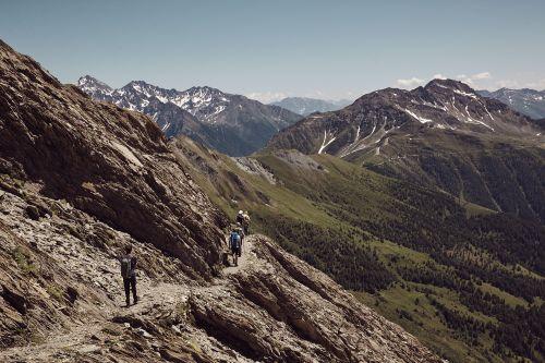 Am Weg Wüstenlandschaft_Sahara Nationalpark Hohe Tauern Osttirol © Nationalpark Hohe TauernTom Specht