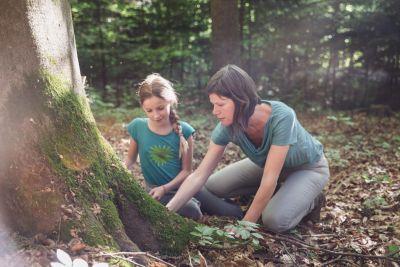Spielend Wandern, Outdoor Spiele, In der Natur lernen, ©ÖWD, Tim Ertl
