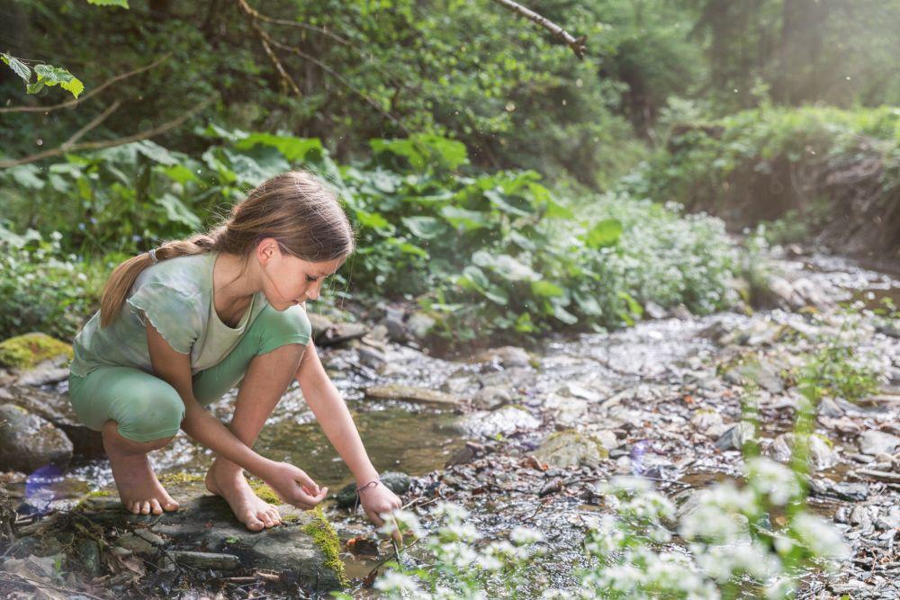 Spielend Wandern, Outdoor Spiele, Spielen am Wasser, ©ÖWD, Tim Ertl