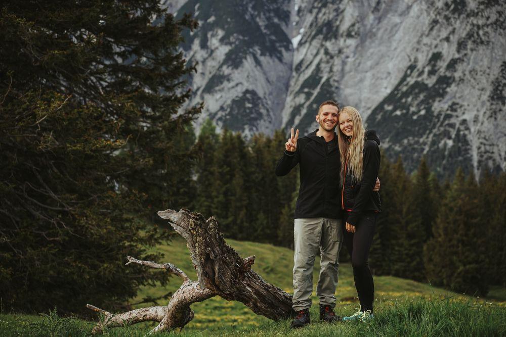 Stefanie und Peter vom Wandersommer 2020