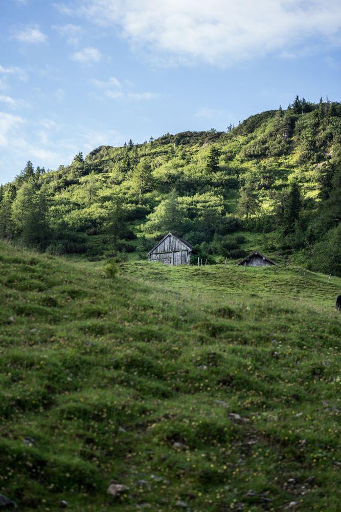 Landschaft am Weg zum Mahdriedl