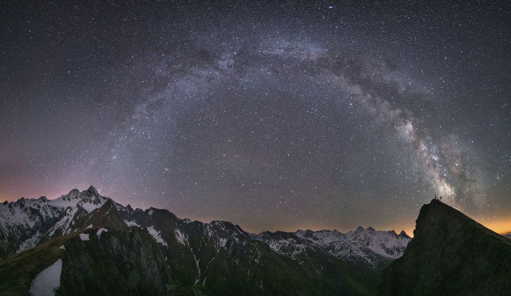 Sternenhimmel, Nationalpark Hohe Tauern Osttirol, Daniel Fischer