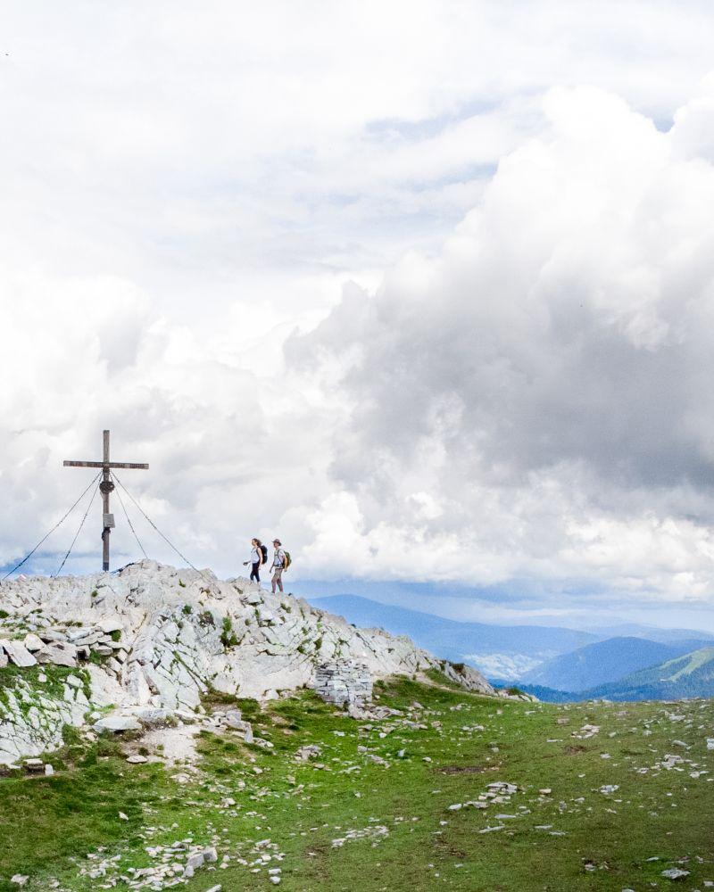 Das Gipfelkreuz am Mirnock