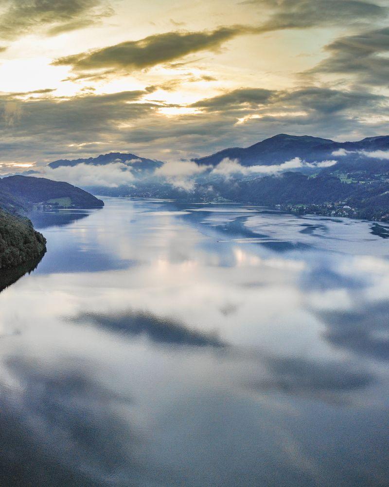 #3 Spannende Abend-Wolkenstimmung über dem Millstätter See