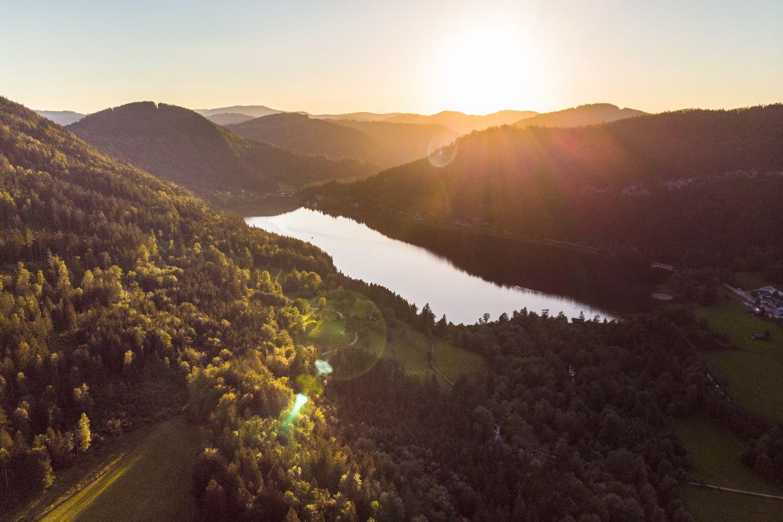 #5 Sonnenuntergang über dem Lunzer See