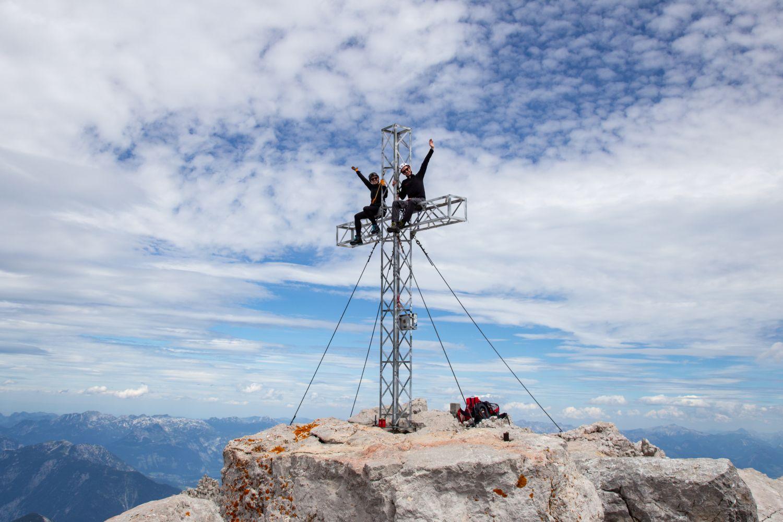 Gipfelkreuz am Hohen Dachstein