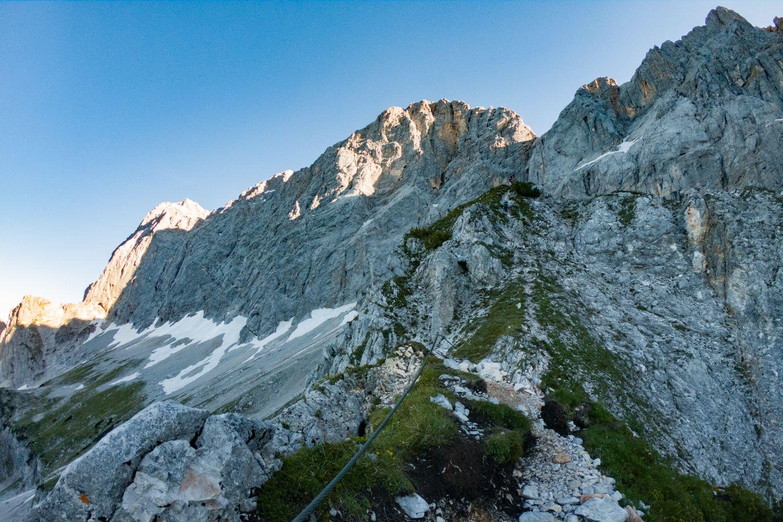 #5 Steinbocksichtung auf der Südwand des Dachsteins