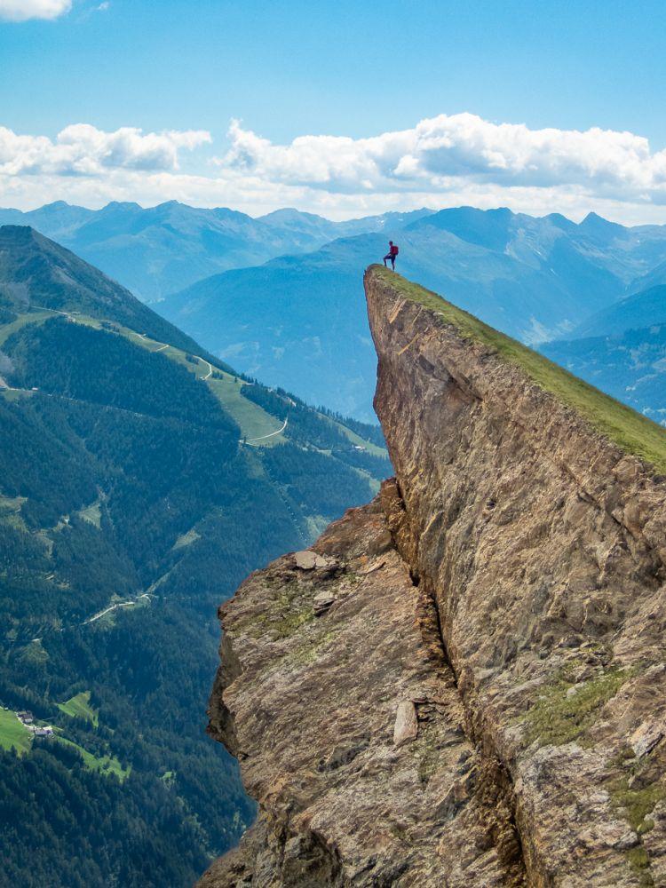 #1 Felszacken der Bretterwandspitze