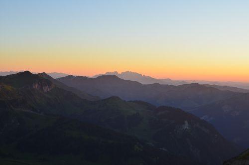 #1_Sonnenuntergang auf der Kanisfluh_Bregenzerwald_(c)bea_froehlich
